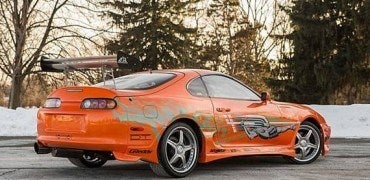 1993 Toyota Supra FF Right Rear