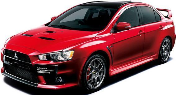 final look 2015 mitsubishi lancer evolution x final edition. Black Bedroom Furniture Sets. Home Design Ideas