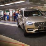 155818 Pre production of the all new Volvo XC90 in Torslanda
