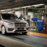 155819 Pre production of the all new Volvo XC90 in Torslanda