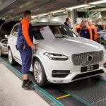 155820 Pre production of the all new Volvo XC90 in Torslanda