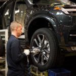 155821 Pre production of the all new Volvo XC90 in Torslanda