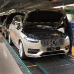155822 Pre production of the all new Volvo XC90 in Torslanda