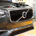 155823 Pre production of the all new Volvo XC90 in Torslanda