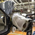 155824 Pre production of the all new Volvo XC90 in Torslanda