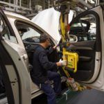 155825 Pre production of the all new Volvo XC90 in Torslanda