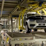 155826 Pre production of the all new Volvo XC90 in Torslanda