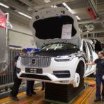 155828 Pre production of the all new Volvo XC90 in Torslanda