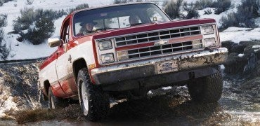 1987 Chevy V10 Silverado Pickup C5609-0091