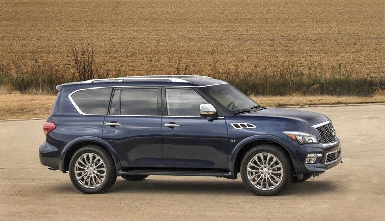2015 Inifiniti QX80 side