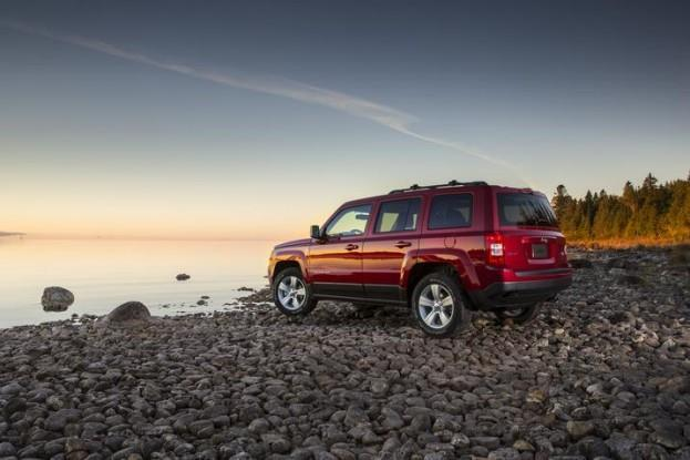 2015 Jeep Patriot back