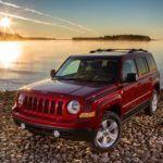 2015 Jeep Patriot beach