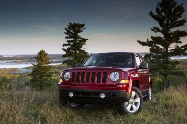 2015 Jeep Patriot front
