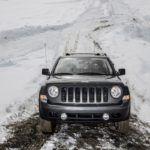 2015 Jeep Patriot snow trail