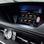 2015 Lexus ES hybrid interior analog clock overlay