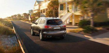 2015 Buick Enclave Rear Fascia