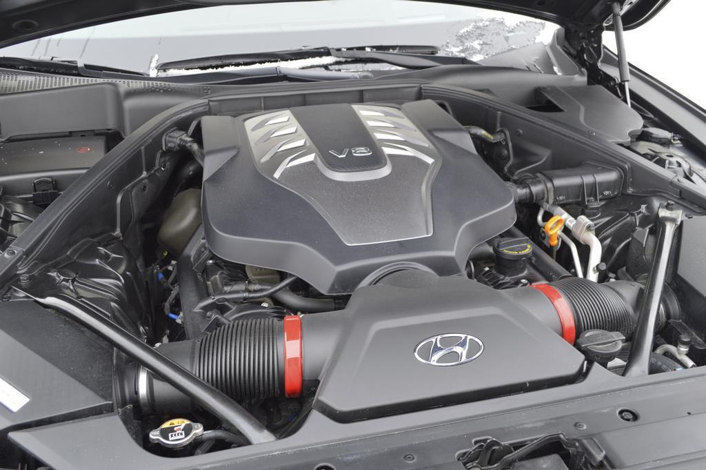 2015 Hyundai Genesis engine