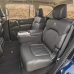 2015 Infiniti QX80 Rear Seats