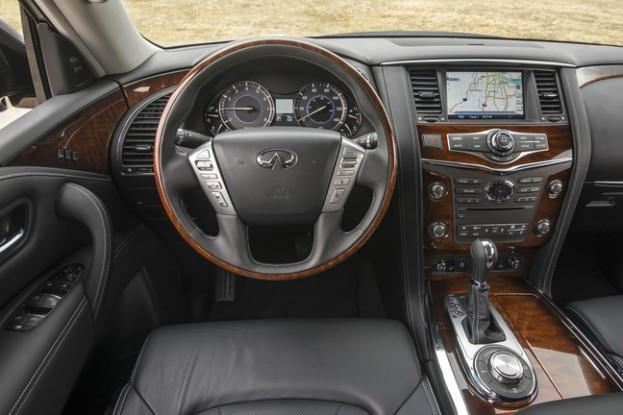 2015_Infiniti_QX80_Steering Wheel