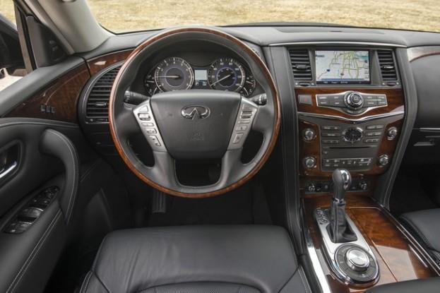 2015_Infiniti_QX80_Steering Wheel