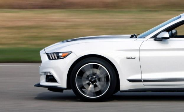2016 Ford Mustang GT with California Special Package Wheel and Tire Combination