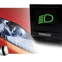 PapaGo P3 Dash Camera Headlight Reminder 200x200 - PAPAGO P3 Dash Camera Review