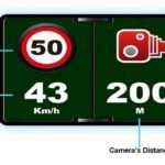 PapaGo P3 Dash Camera Speed Alert
