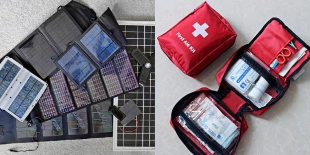 Solar Powered Medical Kit