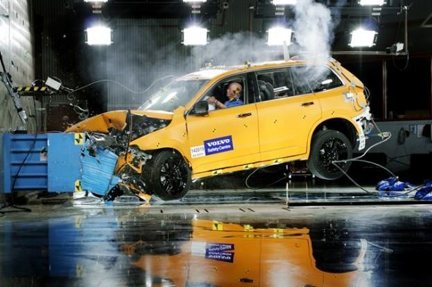 Volvo Crash #1