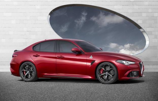 2017 Alfa Romeo Giulia Quadrifoglio Verde Side Profile