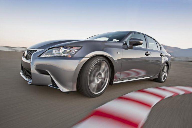 2015 Lexus GS 350 F SPORT Race Track