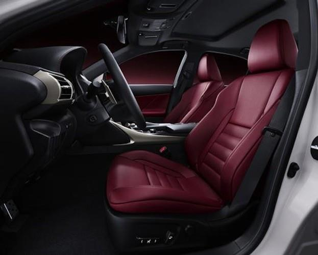2015 Lexus IS 350 F Sport cabin
