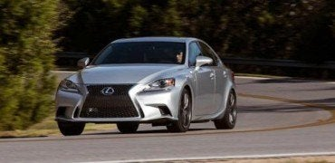 2015 Lexus IS 350 F Sport drive
