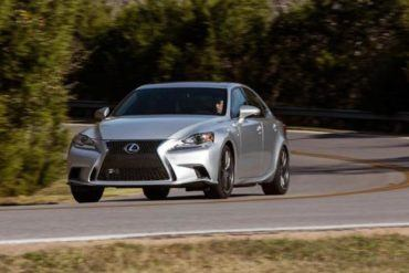 2015 Lexus IS350 F Sport drive