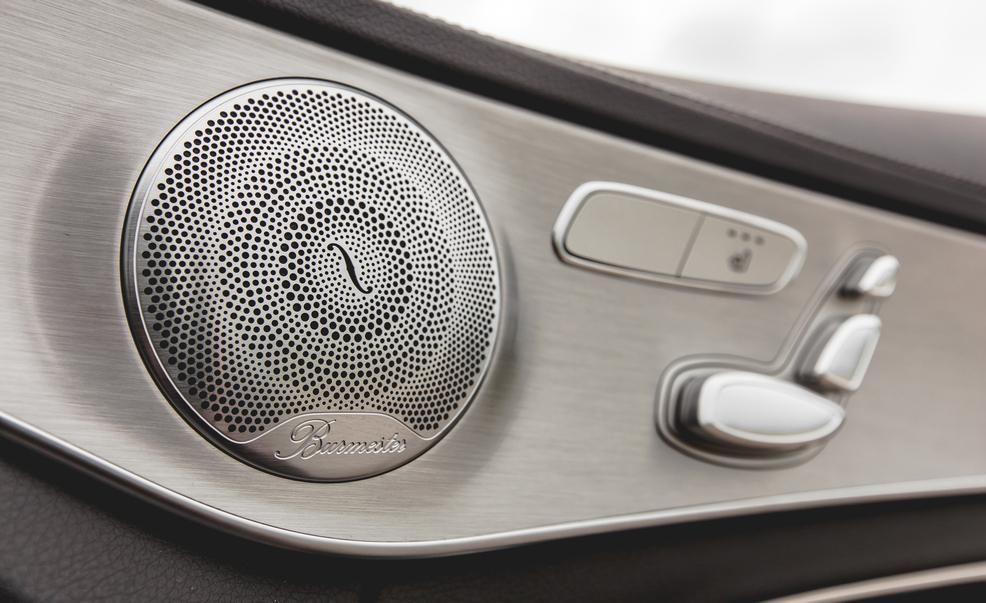 2015 mercedes benz c 300 4 matic burmester audio speaker for Mercedes benz c300 sound system