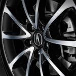 2015 tlx exterior in crystal black pearl 18 inch v 6 wheel