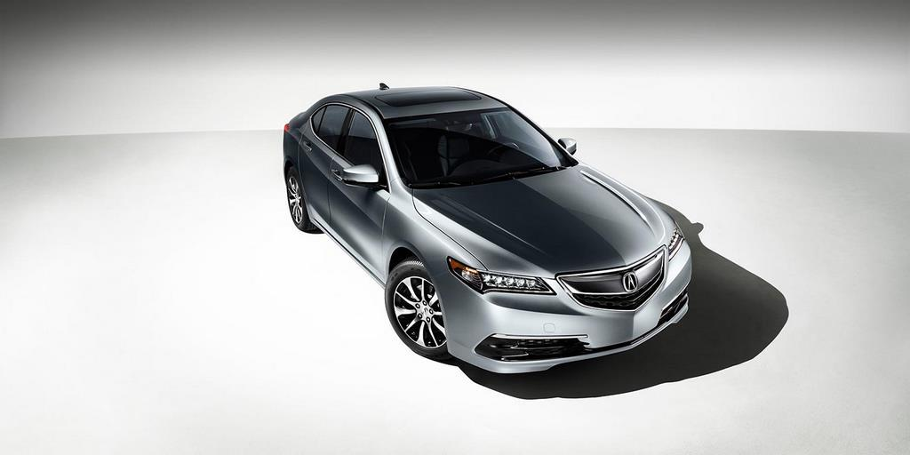 2015 tlx exterior in slate silver metallic white room high 1