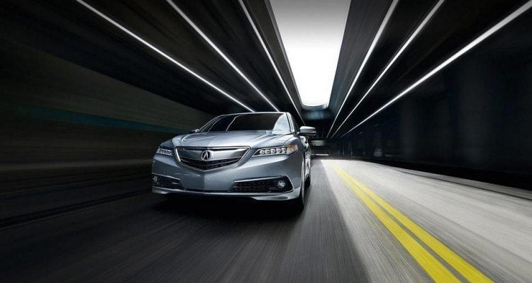 2015 Acura TLX in Motion