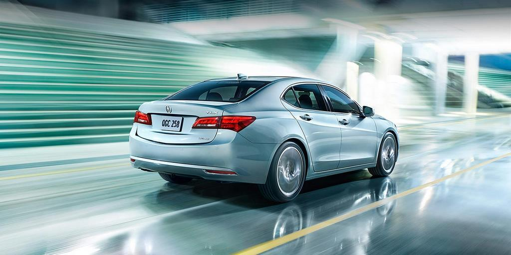 2015 tlx exterior v 6 sh awd with advance package in slate silver metallic green city 5