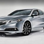 2015 tlx exterior v 6 with advance package in slate silver metallic white room 11