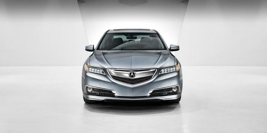 2015 tlx exterior v 6 with advance package in slate silver metallic white room 12