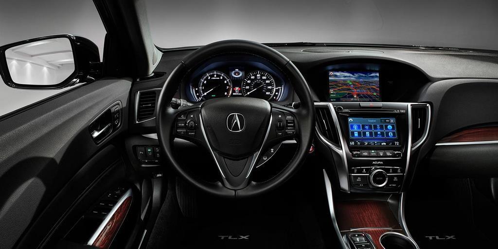2015 tlx interior v 6 with advance package and ebony interior driver pov