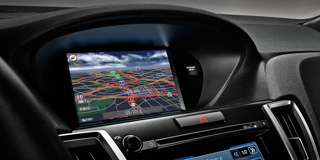 2015 tlx interior v 6 with technology package and ebony interior upper screen
