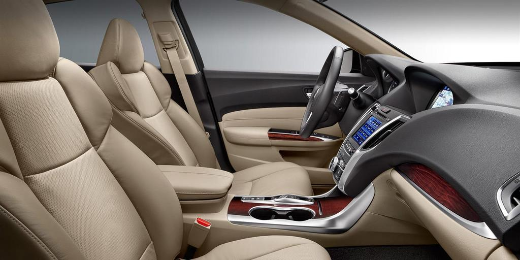 2015 Acura TLX Front Seats