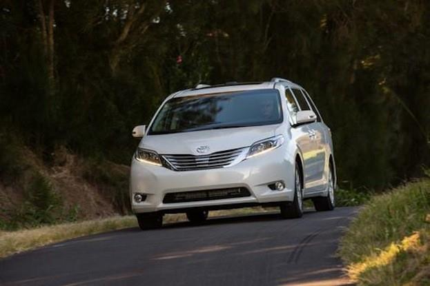 2015 Toyota Sienna Limited driving