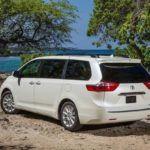 2015 Toyota Sienna Limited rear