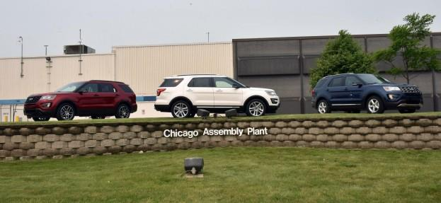 2016 FORD EXPLORERS_CHICAGO ASSEMBLY