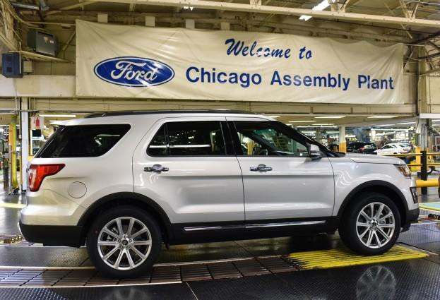 2016 FORD EXPLORER_CHICAGO ASSEMBLY