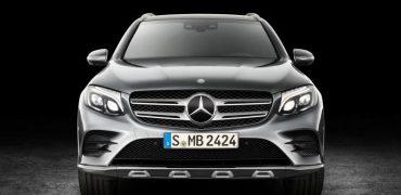 2016 Mercedes-Benz GLC Front Fascia