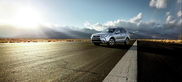 2016 Subaru Forester Strikes a Highway Pose